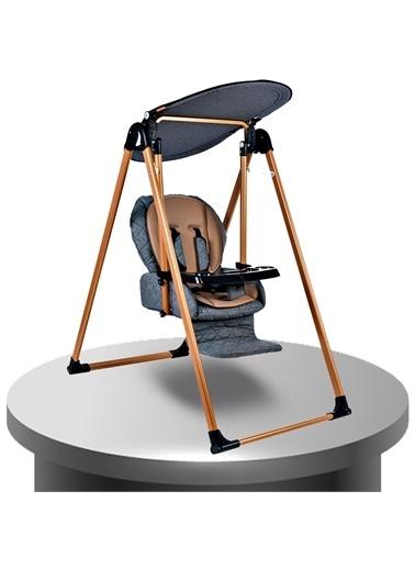Baby Home Baby Home 870 Gold Mama Sandalyesi Salıncak Bebek Salıncağı Gri